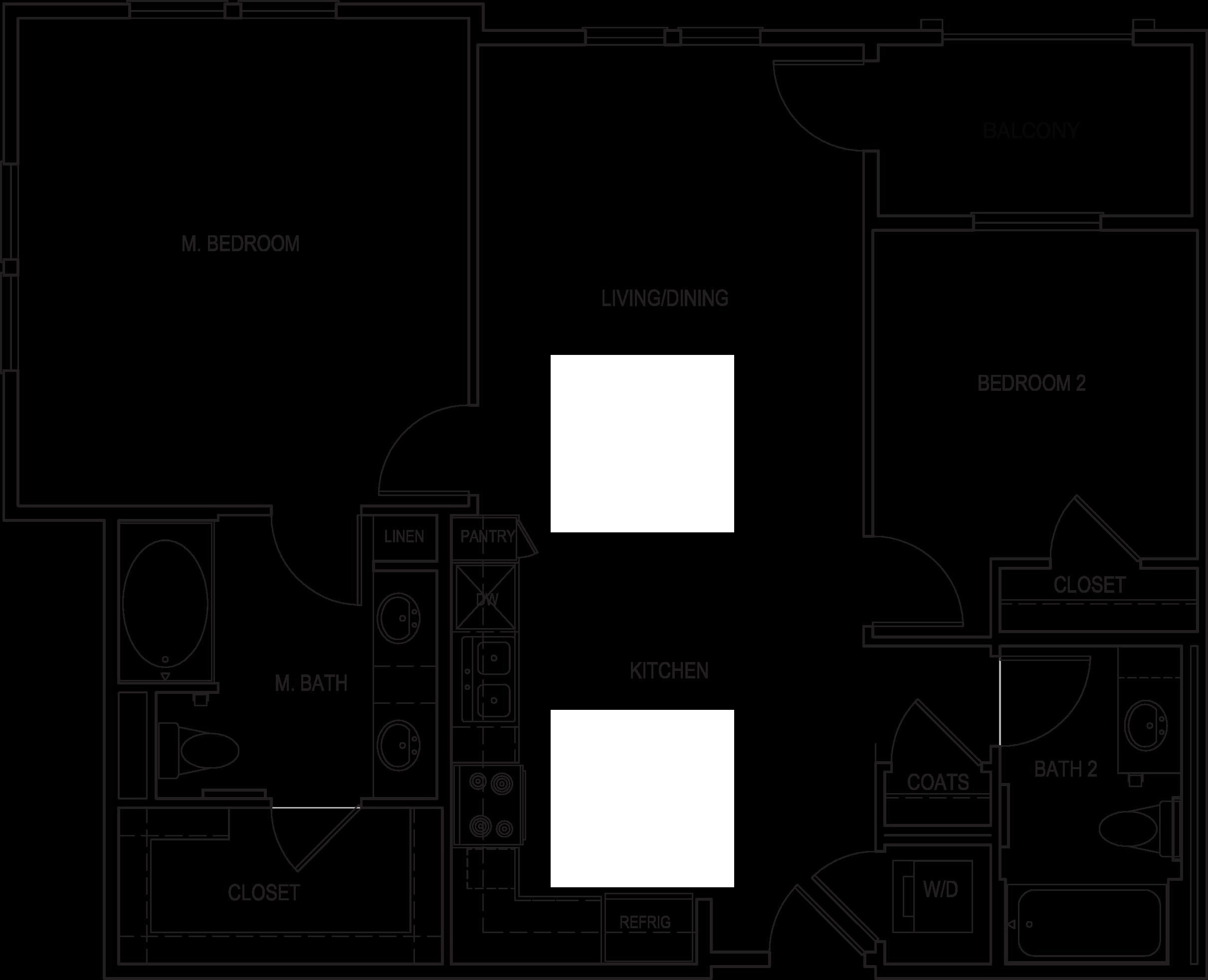 Amalfi Floorplan B1-A