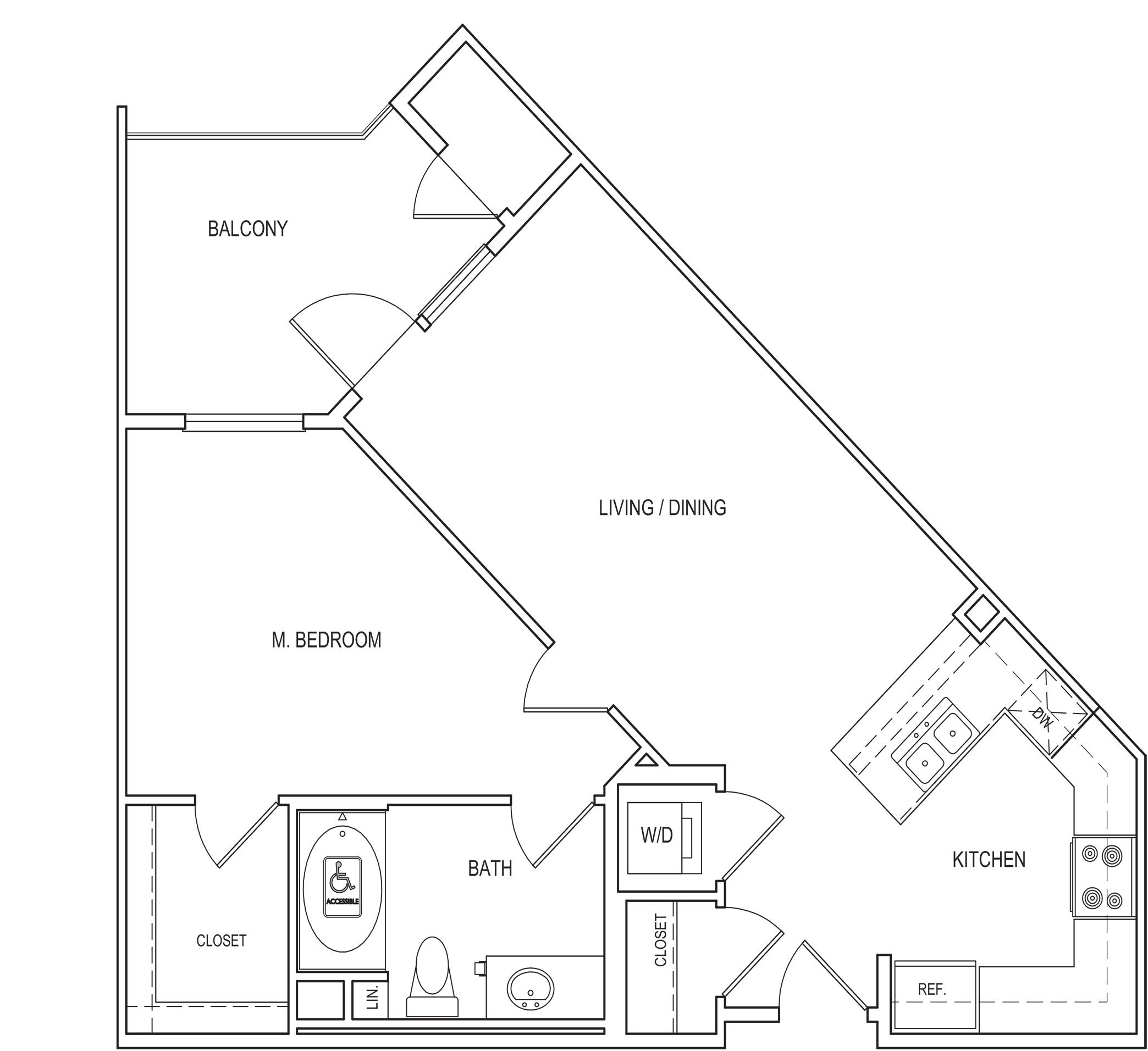 Amalfi Floorplan A2-M