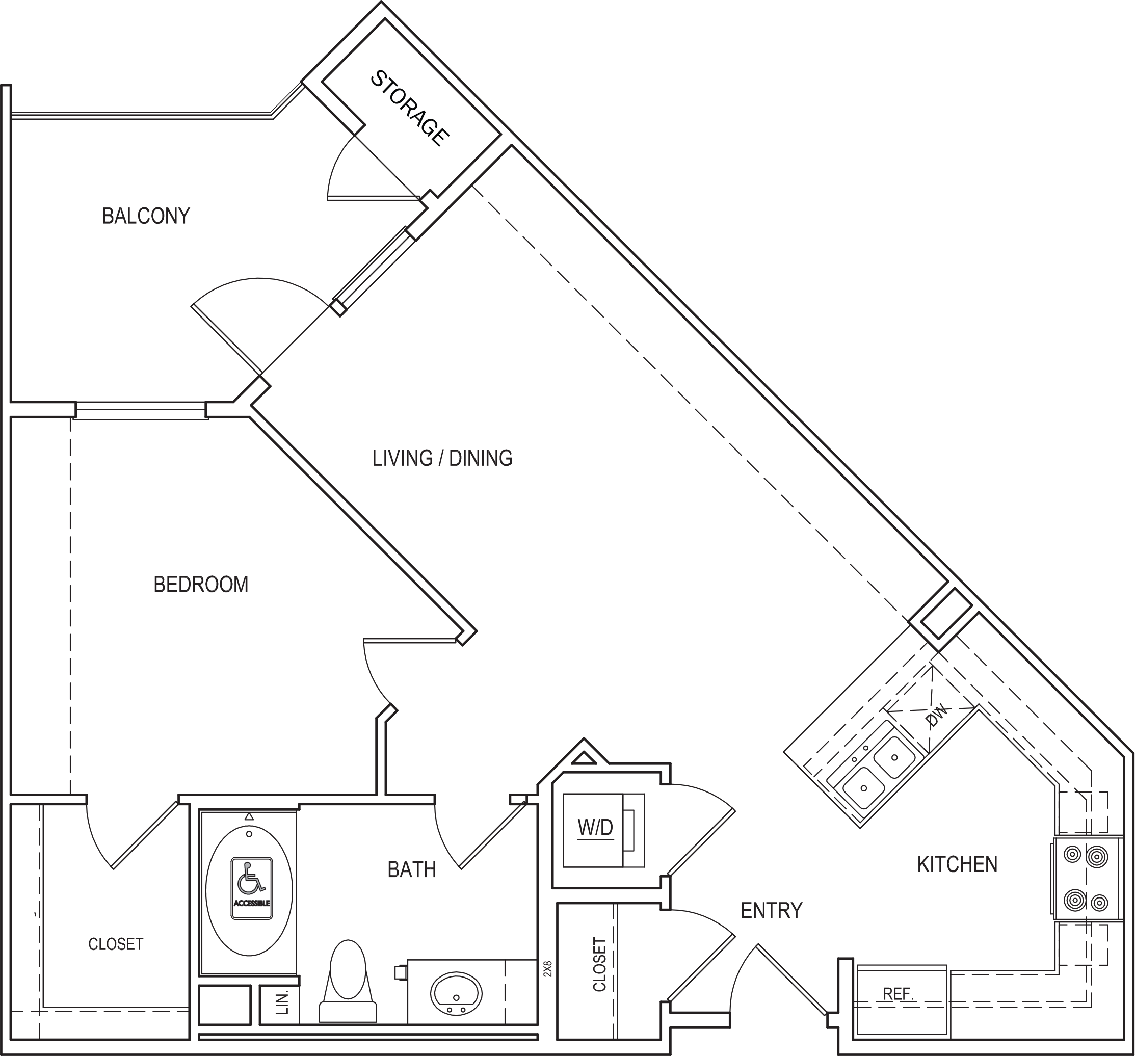 Amalfi Floorplan A2