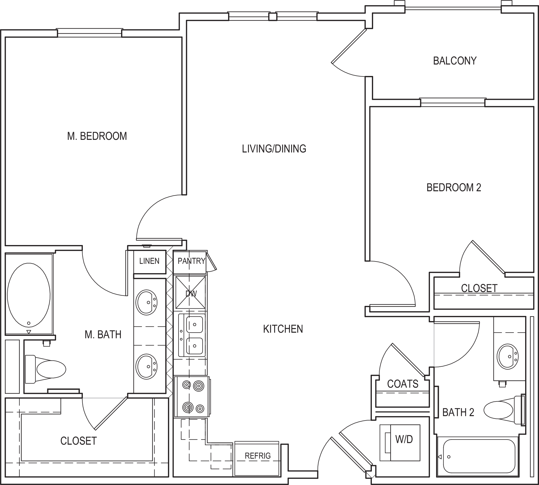 Amalfi Floorplan B1