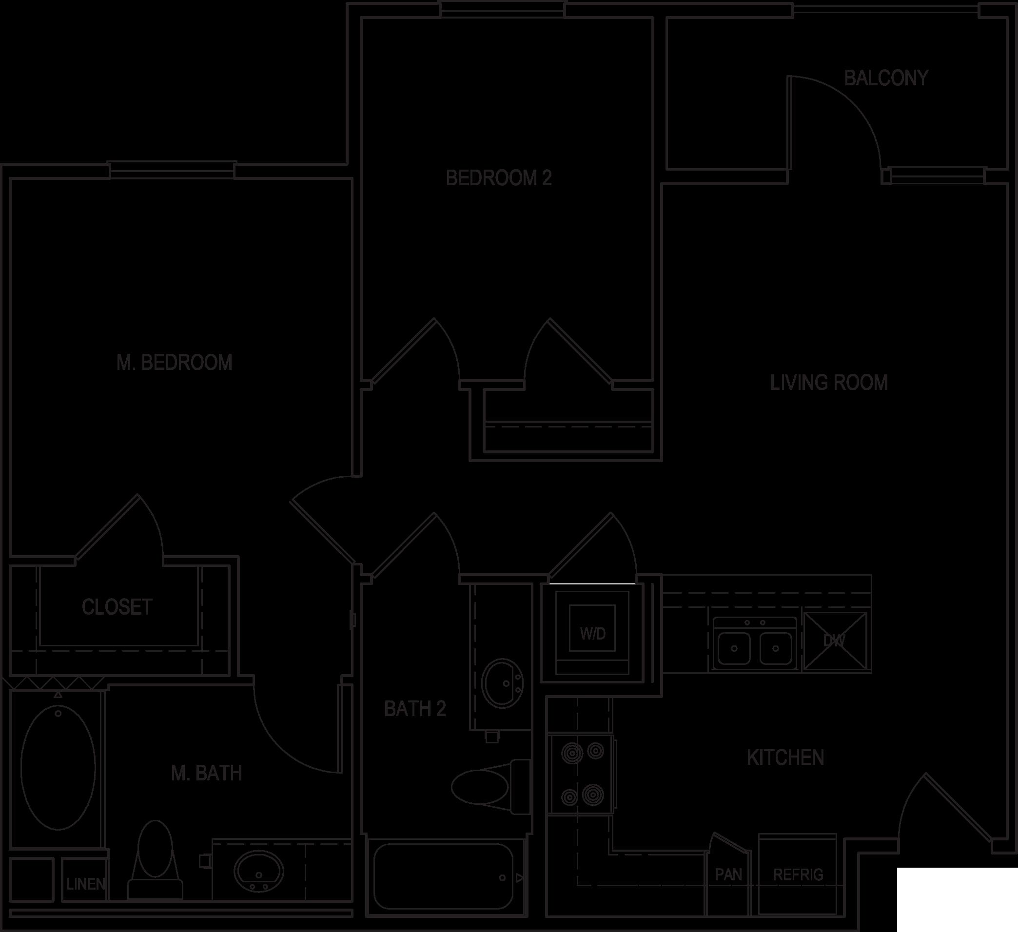 Amalfi Floorplan B3-A