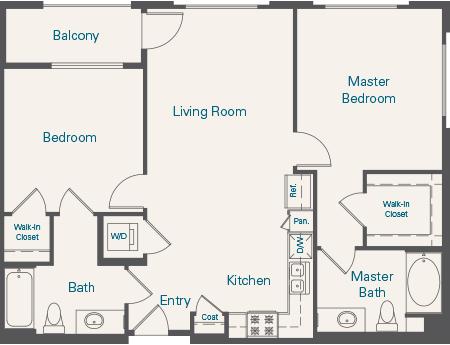 Tuscany Floorplan B2