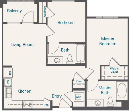 Tuscany Floorplan B3